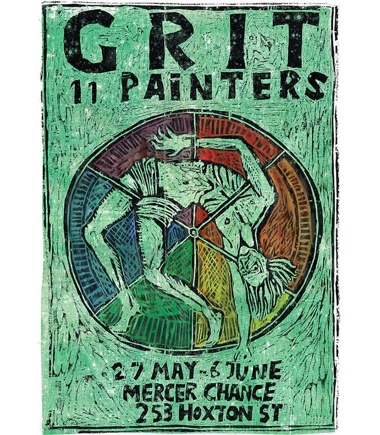 Grit: 11 Painters Poster