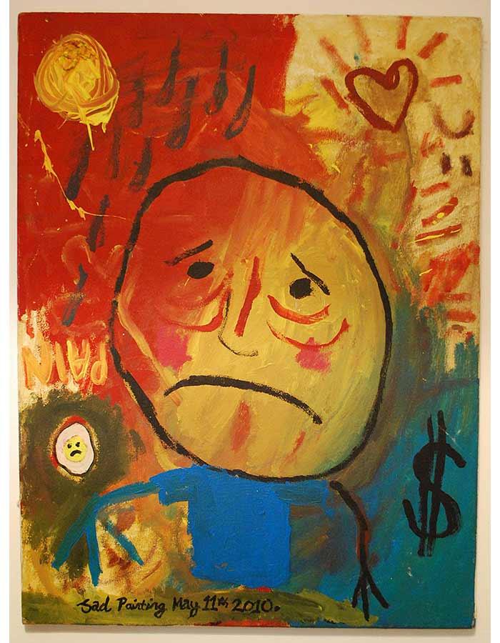 Untitled (Sad Painting)